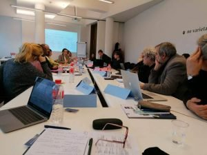 Dynamic and detail-focused meeting in Sofia